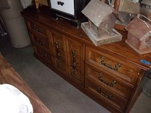 Solid Wood Nine Drawer Dresser in Fort Riley, Kansas