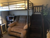 Bunk bed system twin with stairway with mattress in 29 Palms, California
