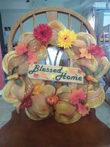 Fall Blessed Home Wreath in Fort Campbell, Kentucky