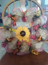 Welcome Wreath in Fort Campbell, Kentucky