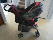 Car seat with stroller in Joliet, Illinois