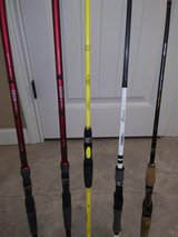 bass rods in Clarksville, Tennessee