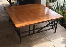 Project - Coffee table ready to be tiled in Travis AFB, California