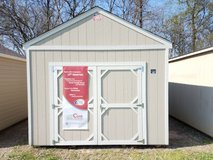 12X16 Lofted Utility Storage Shed in Huntsville, Texas
