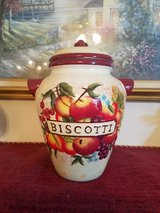 Nonni's Biscotti Cookie Jar in Fort Campbell, Kentucky