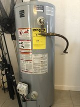 Kenmore Gas Water Heater in Tyndall AFB, Florida