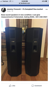 Bose sound speakers in Clarksville, Tennessee