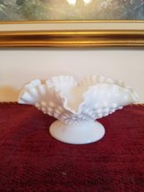 FENTON MILK GLASS CAND DISH in Fort Campbell, Kentucky