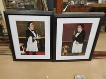 (2) Guy Buffet Waiters Best Friend framed Prints in Naperville, Illinois