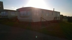 Static Caravan sited at Happisburgh in Lakenheath, UK