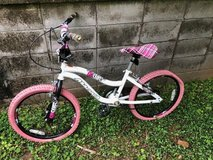 Girls bicycle in Okinawa, Japan