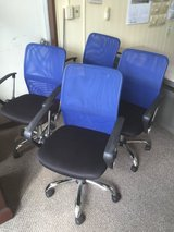 Still great condition! Office chairs-4sets in Okinawa, Japan