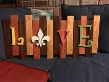 wooden craft in Fort Polk, Louisiana