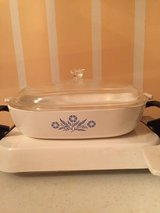 8 pc Vintage Corning Ware Blue Cornflower Cookware (individual prices listed) in Eglin AFB, Florida