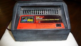 Ever-Start Boat & RV Deep Cycle Battery Charger. Manual or Automatic in Okinawa, Japan