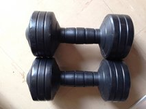 Set of 5 LB Weights in Okinawa, Japan