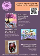 Spring time Painting party in Ramstein, Germany