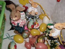 Easter-Ostern Decorations in Ramstein, Germany