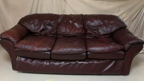 Leather Couch and Loveseat in Okinawa, Japan