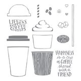 Coffee Café Photopolymer Stamp Set in Ramstein, Germany