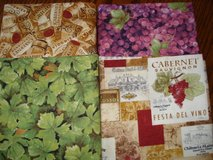 Quilting Fabric Lot!  *Vino Bellisimo* 8 yards total! in Stuttgart, GE
