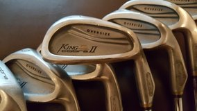 King Cobra II Oversize irons set, 4i thru PW in Ramstein, Germany