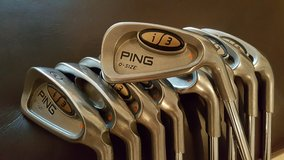 Ping i3 irons 3-PW, UW + 3Hybrid in Ramstein, Germany