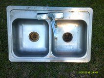 used stainles steel kitchen sink in Pasadena, Texas