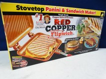 New in Box Red Copper Stovetop in Pearland, Texas