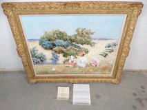 Signed Jennifer Ross Framed Oil Painting in Pearland, Texas