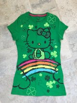 Girls Hello Kitty St. Patrick's Day Shirt - Size XL (12-13) in Plainfield, Illinois