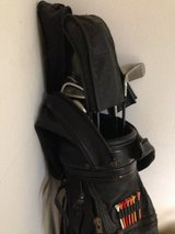 Golf bag with Lynx clubs in Stuttgart, GE