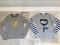 Girls Mini-Boden Long-Sleeve Cotton T-Shirts Size 11-12 in Glendale Heights, Illinois