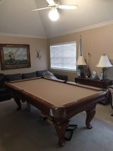Elegant classic Pool Table in Kingwood, Texas