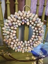 Easter wreath in St. Charles, Illinois