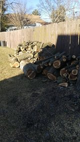 Fire wood in Algonquin, Illinois