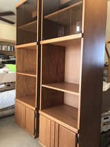 Two extra deep bookcases in Luke AFB, Arizona