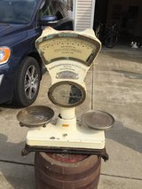 Antique German scale (working) in Fort Knox, Kentucky