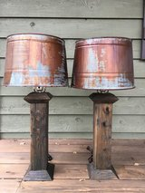 Handmade Rustic Lamps in Warner Robins, Georgia