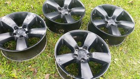 20 inch Dodge black rims ( no tires ) in Cleveland, Texas