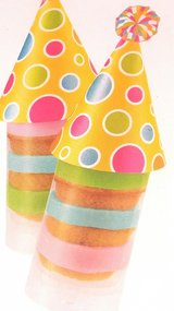 72 Push Pop Cake Treat Toppers - 6 Packs in Clarksville, Tennessee