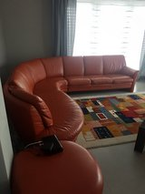 Leather sectional sofa in Schweinfurt, Germany