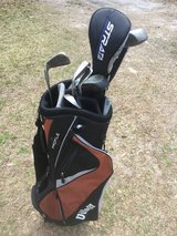 Wilson bag and clubs. in Camp Lejeune, North Carolina