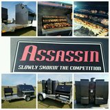 Assassin Grill set up w/ trailer in Warner Robins, Georgia