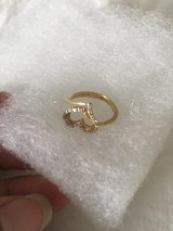 14 K Gold Real Diamond Heart Shape Ring$400 in Ramstein, Germany