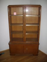 1930th Art Deco Glass Cabinet in Ramstein, Germany
