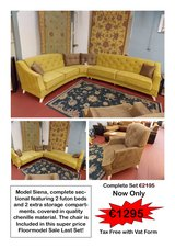 Siena Sectional + Chair Reduced! in Ramstein, Germany