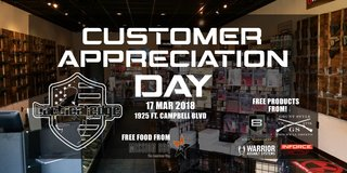 Customer Appreciation Day TOMORROW don't miss it! in Clarksville, Tennessee
