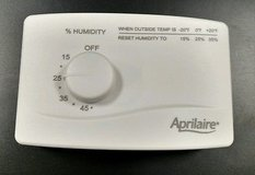 APRILAIRE HUMIDIFIER HUMIDISTAT CONTROLLER in Bolingbrook, Illinois