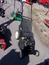 Poulan Push Mower With Bagger in Fort Riley, Kansas